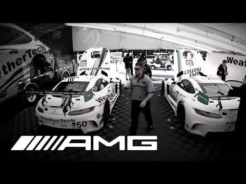 Mercedes-AMG Customer Racing – Garage Timelapse 12H Sebring 2017