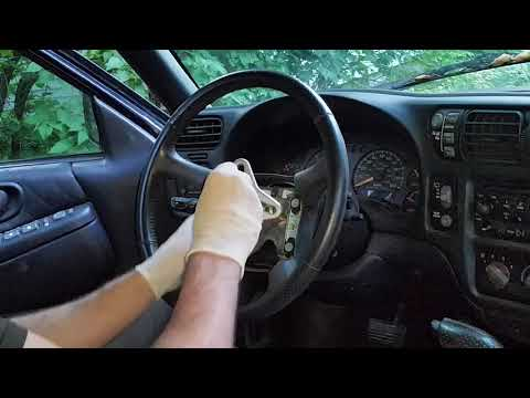 How To Remove An S10 Steering Wheel