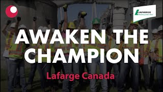 awaken the champion official music video lafarge gva