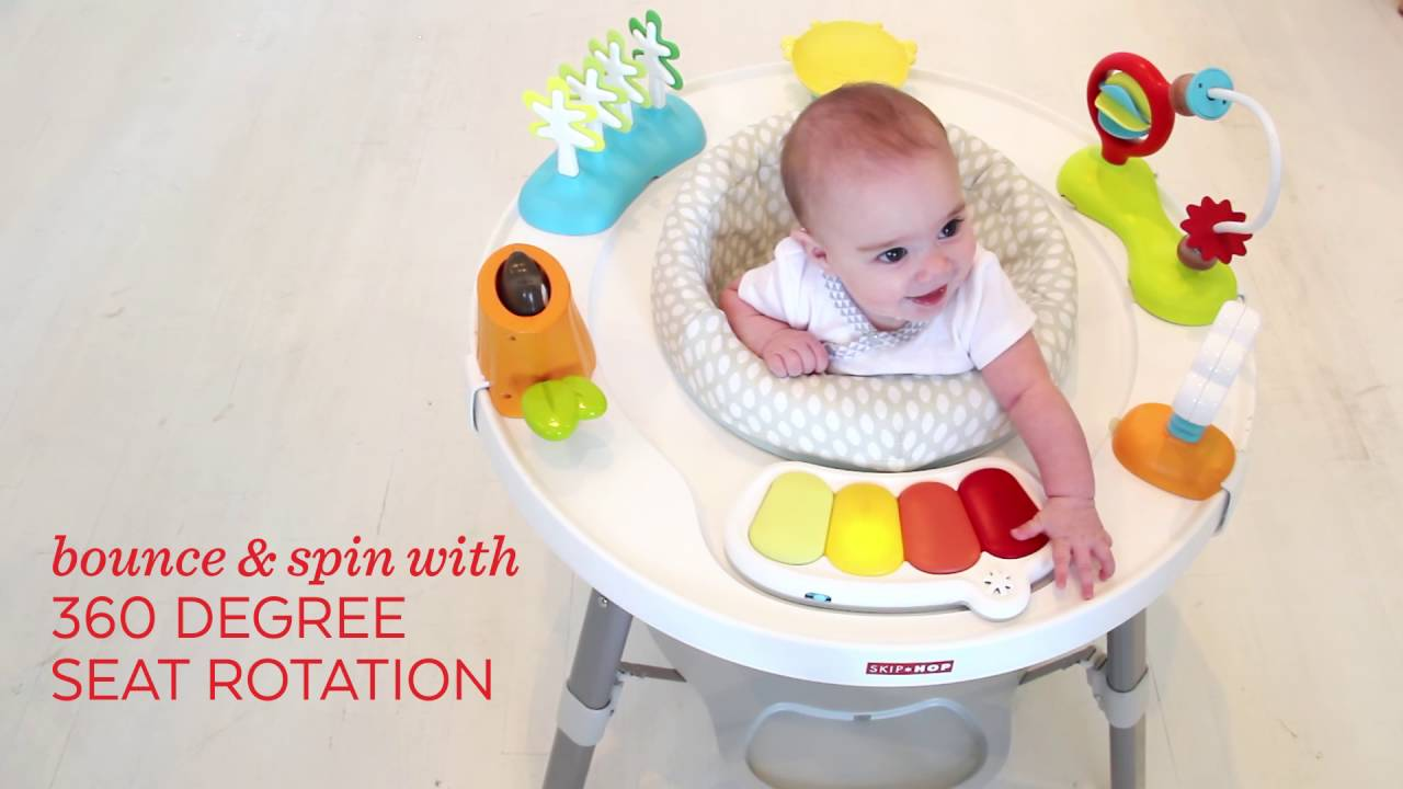 1f57a8742 Skip Hop Explore   More Baby s View 3-Stage Activity Center - YouTube