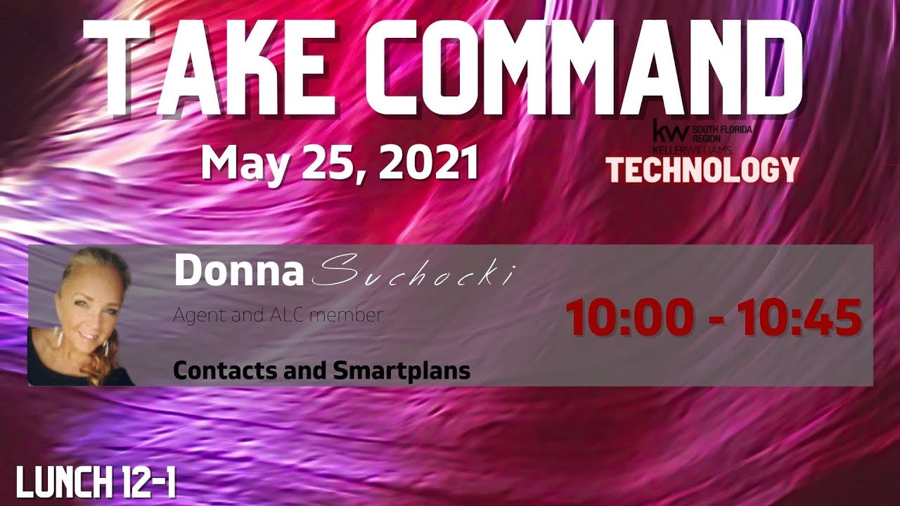 May: Take Command - Contacts and Smart Plans