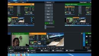 BELAJAR VMIX Live Streaming Youtube Dg Handycam Dan Web Cam External Input Audio Dari Mixer
