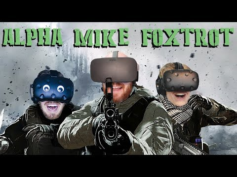 ADIOS MY FRIENDS!! AMF Alpha Mike Foxtrot Oculus Rift Multiplayer Gameplay
