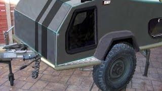 SUV-34: Projet Teardrop 4x4, pour SUV.