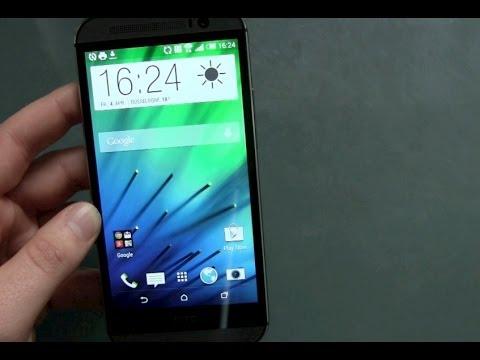 HTC One M8 einrichten und erster Eindruck