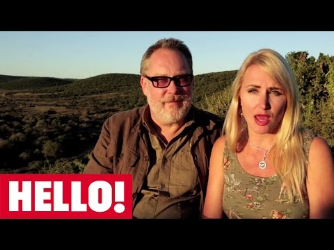 Vic and Nancy Reeves take HELLO! to Africa in support of Born Free