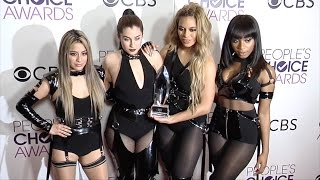 "Fifth Harmony ""People's Choice Awards 2017"" Press Room Red Carpet"