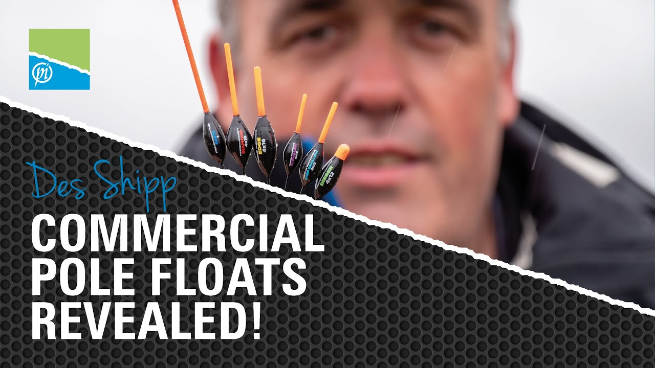 Des Shipp Commercial Pole Floats - REVEALED!