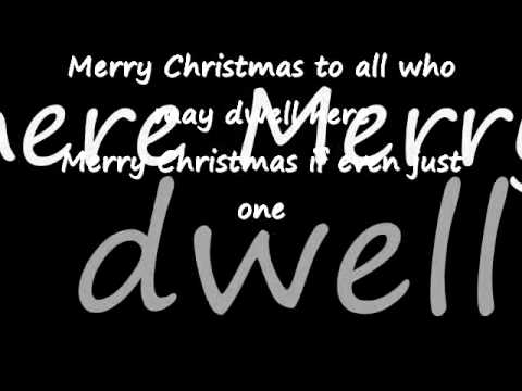merry christmas with love lyrics