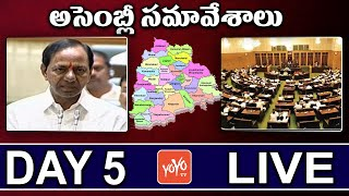 Telangana Assembly LIVE | Day 4 | CM KCR Speech | KTR | TRS | Congress | YOYO TV Channel