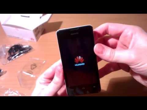 Huawei Ascend Y300 Unboxing (deutsch)