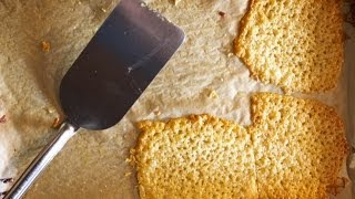 Baked Cheese 'croutons'     Fresh P