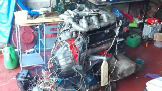 ford 2.9 V6 cosworth B.O.B engine start