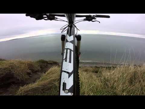 Biking Ft Ebey State Park, Whidbey Island, Washington
