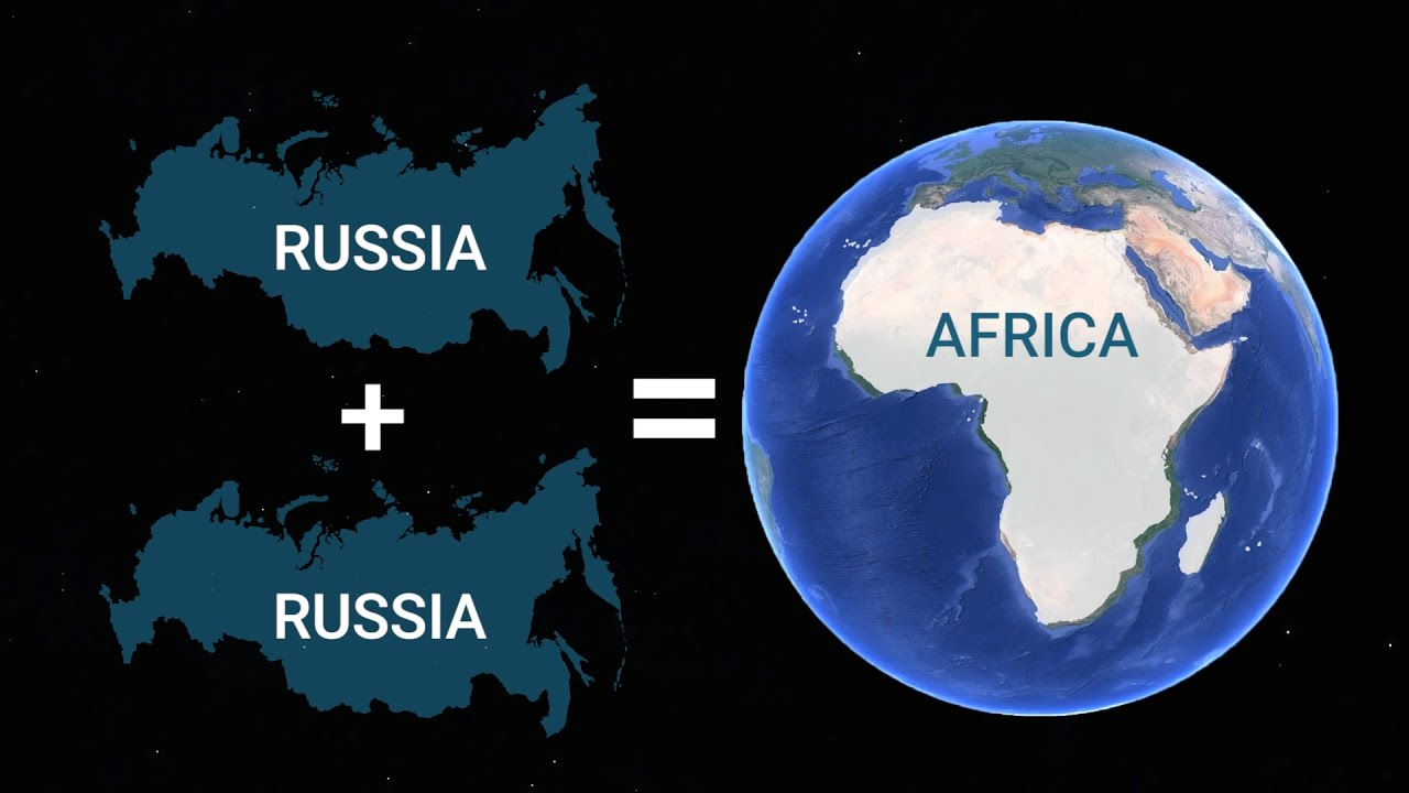 Map Of Africa From Space.These 10 Maps Will Change The Way You See The World
