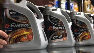 Масло G-Energy обзор