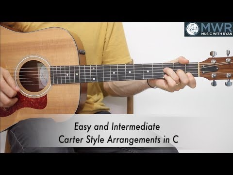 Two Easy Carter Style Guitar Lessons!