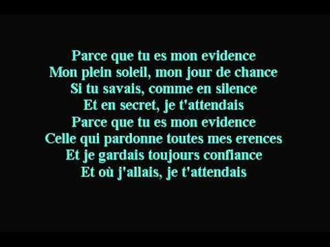 M. Pokora - Mon Evidence (Lyrics)