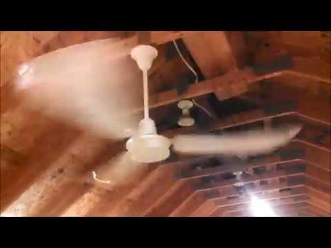 Canarm PleasantAire Industrial Commercial Ceiling Fan model CP-56T c.1983