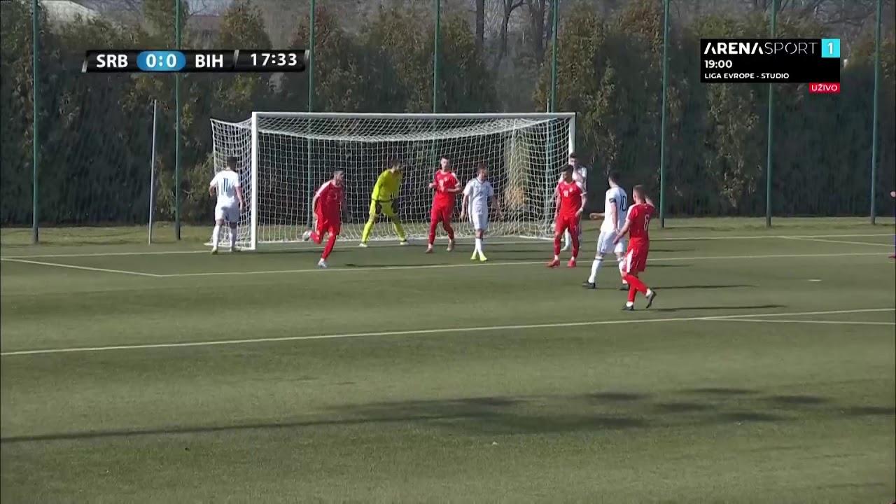 U-19 | Srbija - Bosna i Hercegovina 2:1, golovi (25.2.2021.)