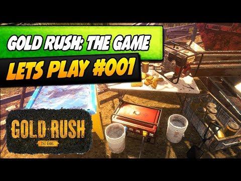 GOLDRAUSCH IN ALASKA DAS SPIEL! #001 | Gold Rush: The Game | Karvon