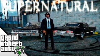 SUPERNATURAL EN GTA V! | CHEVY IMPALA 67 | GTA V MODS | BraxXter