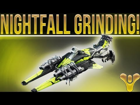 "🔴LIVE! Destiny 2 Nightfall Grinding. Arms Dealer Exotic Sparrow ""Tilt Fuse"" Grinding."