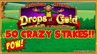 Drops of Gold £50 Mega Spins ** CRAZY TILT MODE **