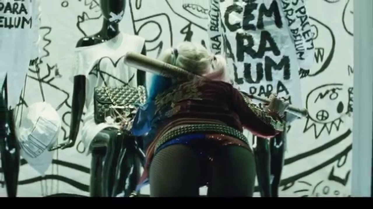 Hot harley quinn upskirt have faced