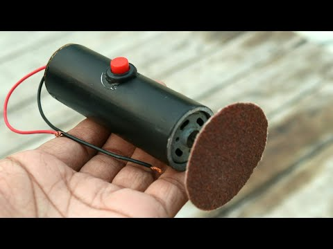 How To Make A Dremel Tool - Sanding And Grinding Tool
