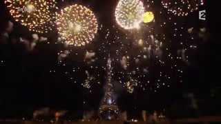 Jeux Olympiques 2024 paris est prêt  -   Feu d'artifice 14 juillet  -  Tour Eiffel  JO 2024 PARIS