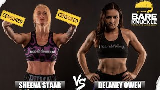 Women's Bare Knuckle Division - BKFC 8: Sheena Starr vs. Delaney Owens