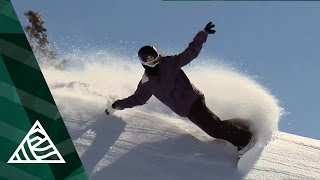 Shaun White Snowboarding on a Japanese Volcano
