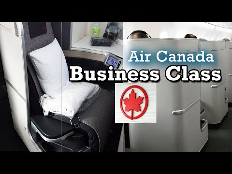 Air Canada Business Class On Boeing 787-9 Dreamliner From Calgary (YYC) To Frankfurt (FRA)