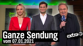Extra 3 vom 07.01.2021 mit Christian Ehring