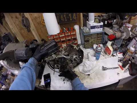 Subaru Robin 169cc EX17 - Governor removal