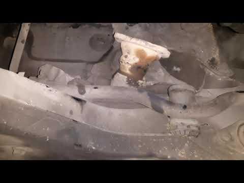 Снятие кулисы МКПП Audi TT