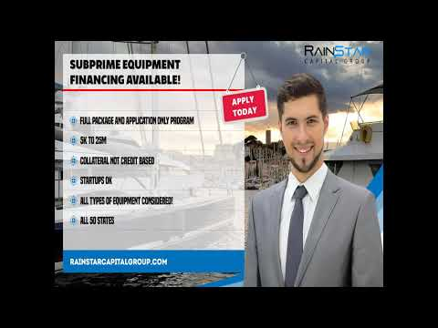 Subprime Equipment Financing 3