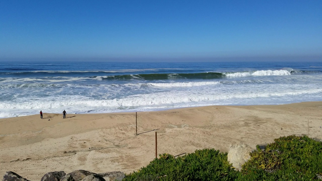 Surf At Montara Beach Ca