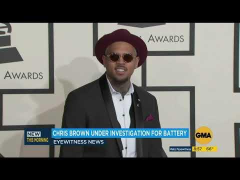 Chris Brown accused of hitting woman in Los Angeles, police say