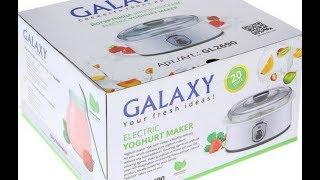 Моя новая помощница на кухне   Йогуртница GALAXY GL 2690   Обзор