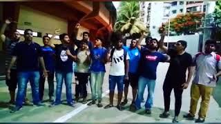 India football fans in Mumbai