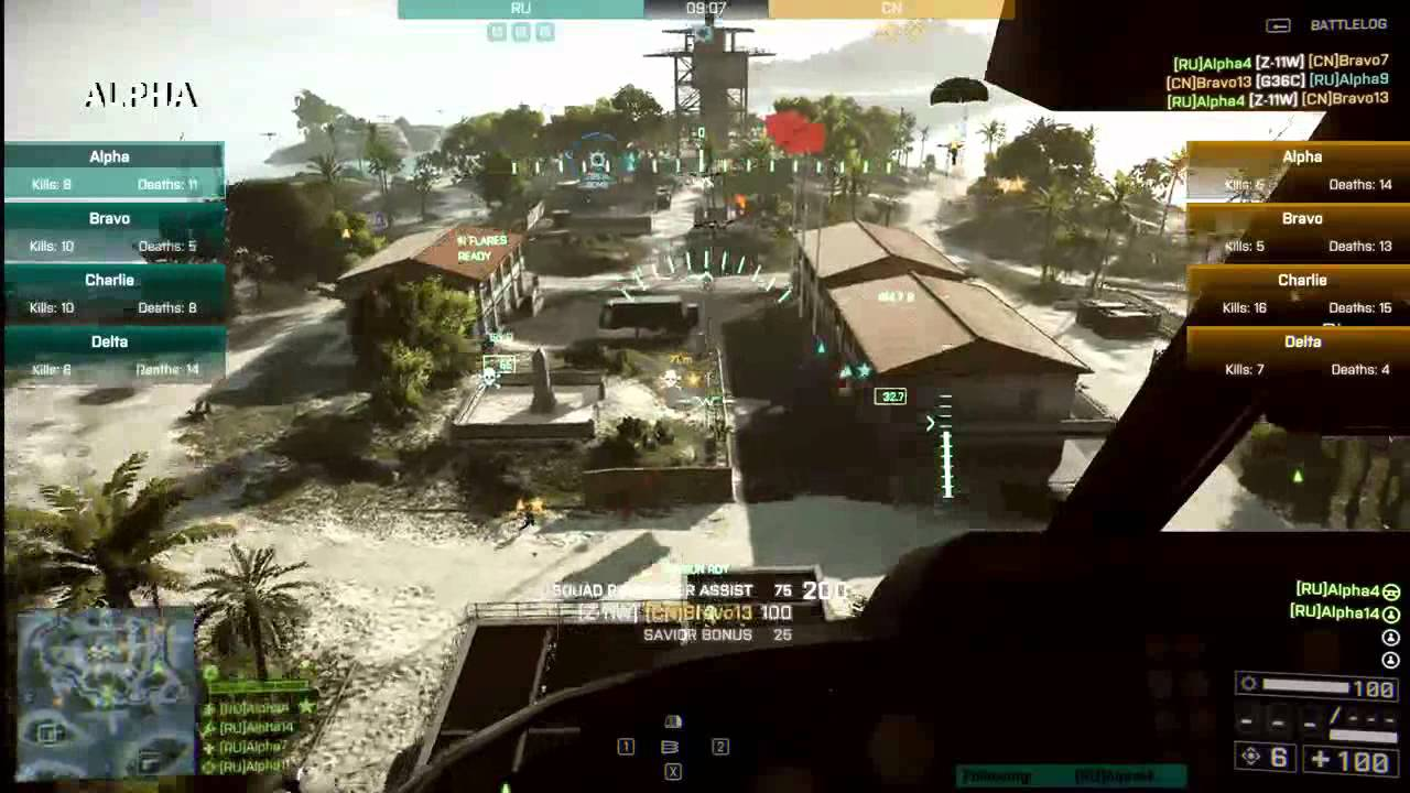 Only in Battlefield 4 | Road Kill - What's the full attack power of a helicopter in the right hands? It's something that you'll only find out in Battlefield!