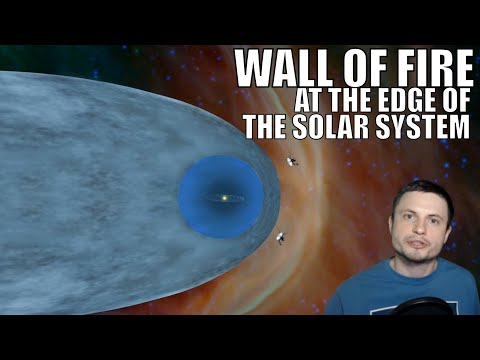Maddox - Voyager 2 Discovers Wall Of Fire At Solar System's Edge!