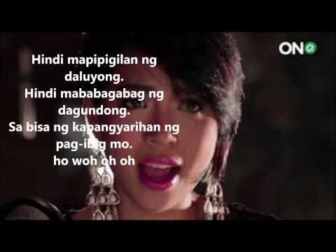 Aicelle Santos - Kapangyarihan Ng Pag-ibig with lyrics