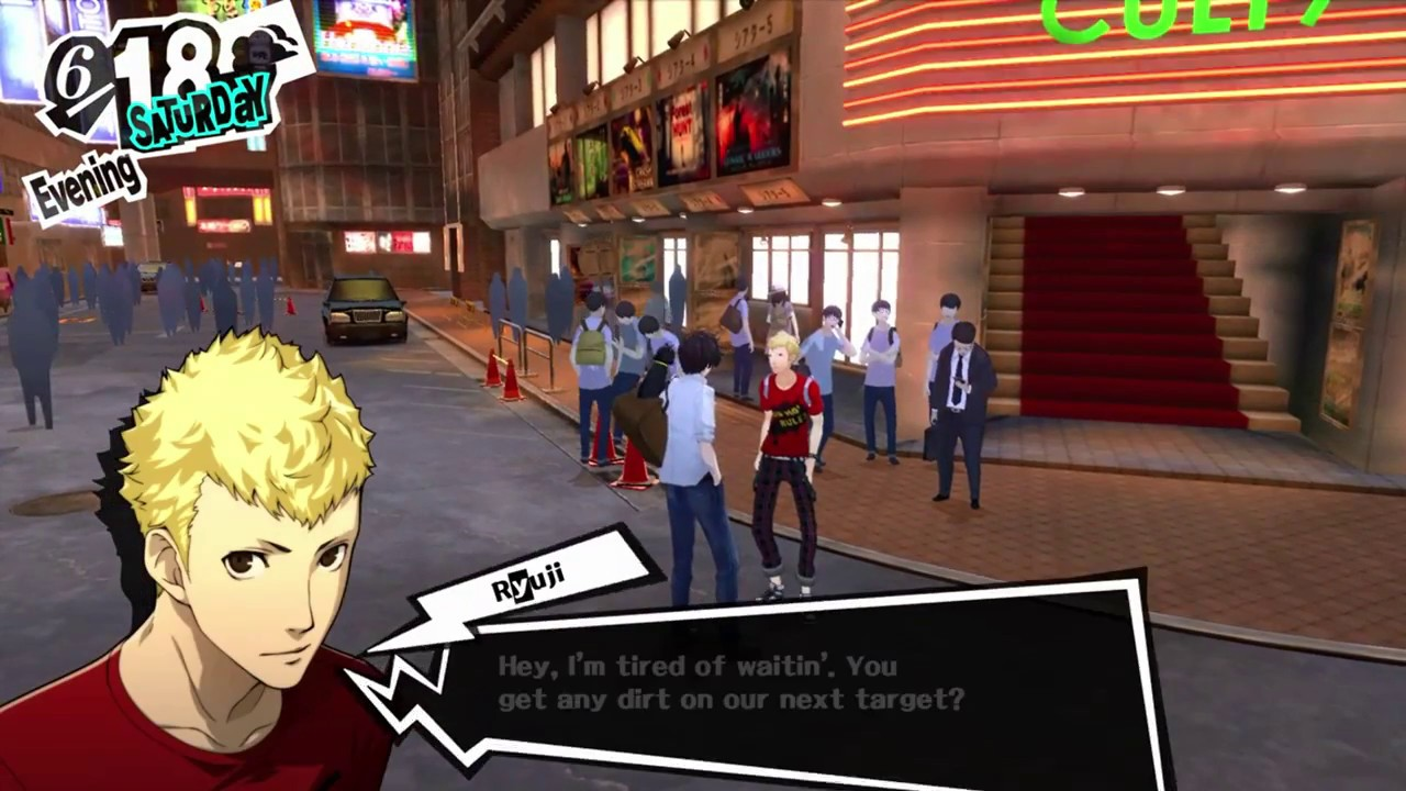 Persona 5 Ps4 Gameplay Part 83 A Moment Ryuji Won T