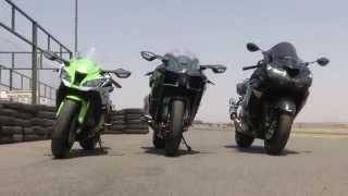 Kawasaki H2 vs. ZX10R vs. ZX14