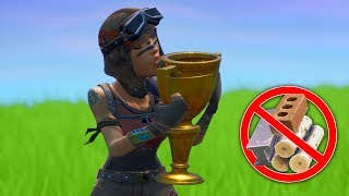 winning without building in fortnite.. (Season 9)