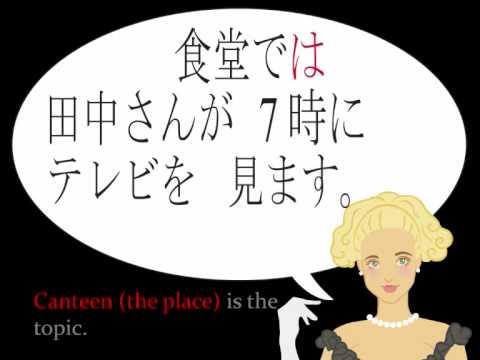 learn basic japanese basic sentence structures lesson 2 youtube. Black Bedroom Furniture Sets. Home Design Ideas