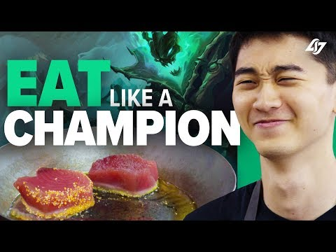 Biofrost Cooks a Meal For Champions - Eat Like a Champion